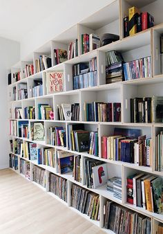 BrickBox Modern Shelving Bookcase