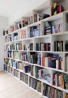 BrickBox Modern Shelving Bookcase