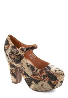 Woofing It Dog Print Heels by Jeffrey Campbell
