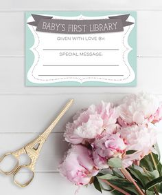 Baby Shower Book Plate - Baby Shower Book Plate  - Print at Home Sticker - Book for Baby Shower - Please Bring A Book - Instant Download by CreativeUnionDesign on Etsy https://www.etsy.com/listing/181322177/baby-shower-book-plate-baby-shower-book