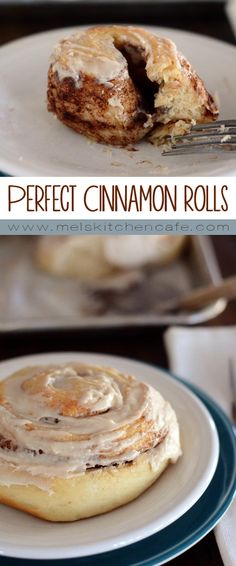These cinnamon rolls really are cinnamon roll perfection.