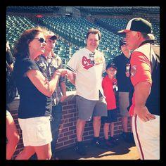 MASN fans with Buck. Follow MASNOrioles on Instagram!