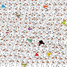 Can you spot the Panda? It's harder than you might think and you don't win a prize, but you do get a small feeling of Christmas accomplishment :D