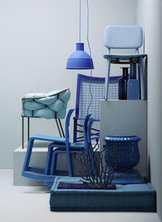 Meeresfarben: blaue Möbel | online kaufen im stilwerk shop |  photo: Dirk Dunkelberg, styling: Wolfram Neugebauer