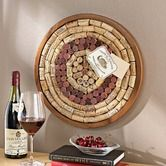 Found it at Wayfair - Round Wine Cork Board Kit