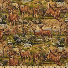 Hautman Deer Wild Brown