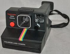 Polaroid Land Camera Supercolor 1000 Deluxe, Tested as Working