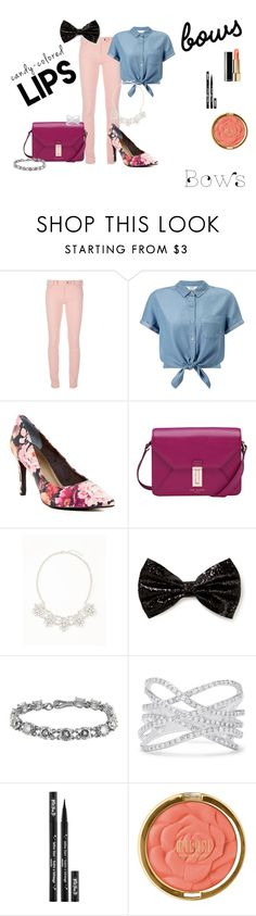 """Girly Fall Outfit"" by jackieswift04 on Polyvore featuring Balenciaga, Miss Selfridge, Seychelles, Ted Baker, Old Navy, Forever 21, Bottega Veneta, Effy Jewelry, Kat Von D and Milani"