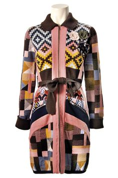Savage Culture: Chic Cashmere Coat Odelia, only on wildcurves.com!