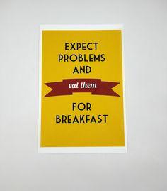 Eat Problems Print Uncovet
