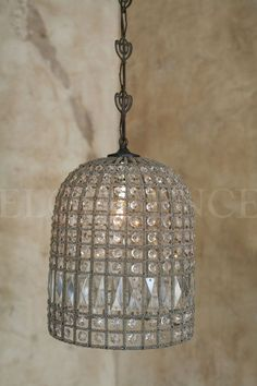 eloquence birdcage crystal beaded chandelier small medium large - Birdcage Chandelier