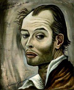 Manuel Gonzalez Serrano, self portrait