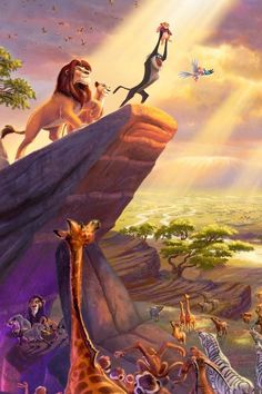 I love the lion king