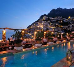 Positano is a village and comune on the Amalfi Coast (Costiera Amalfitana), in Campania, Italy. The main part of the city sits in an enclave in the hills leading down to the coast.Positano, Italy   THE NATURE OF THE WORLD