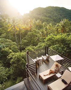 Just relax... at Boucan Hotel & Restaurant #hotelchocolat #relax #stlucia #holiday
