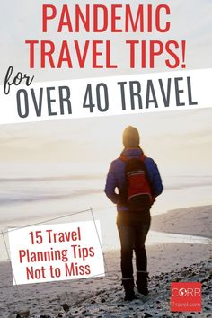 Over 40 solo travel during COVID-19 is not only possible, but can also be rewarding if you follow my top 15 over 40 travel tips for planning your solo travel. By @corrtravel #CORRTravel Over 40 Travel | Solo Travel Tips | Solo Female Travel Tips | International Travel Tips | Travel Tips and Tricks | Travel Planning | Retirement Travel Ideas | Solo Travel Safety | Solo Female Travel Safety