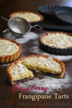 Raspberry Frangipane Tarts and a Calphalon Giveaway #lowcarb #glutenfree #healthyrecipes