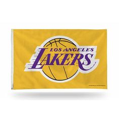 1f393401e9b Los Angeles Lakers Yellow Yard Flag from Team Sports Gift. Click now to  shop NBA banners