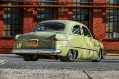 1950 Ford ''HOTROD49''  Maintenance/restoration of old/vintage vehicles: the material for new cogs/casters/gears/pads could be cast polyamide which I (Cast polyamide) can produce. My contact: tatjana.alic@windowslive.com