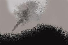 ARTES, DESARTES E DESASTRES CONTEMPORÂNEOS.  Vislumbre de nova paisagem 0,30 x 0,42 Arte digital