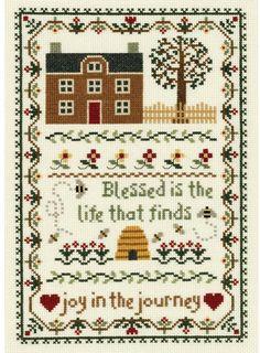 Joy in the Journey - Cross Stitch Kit