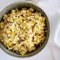 Creamless Creamed Corn with Mushrooms and Lemon - Chef Kevin Gillespie grates half of the corn here to make a luxurious puree that thickens without cream. He suggest scraping corn cobs with the dull side of a knife removes the juices. http://www.foodandwine.com/recipes/creamless-creamed-corn-with-mushrooms-and-lemon