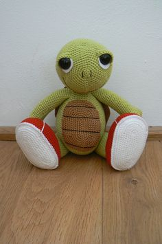Ravelry: Otto the Turtle pattern by Katka Reznickova