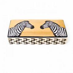 Jonathan AdlerDekorative Dose Animalia Zebra von Jonathan Adler