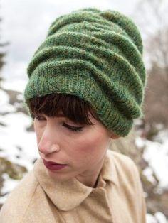 Berroco Potrillo Gathered Hat PDF Knitting Pattern