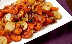 Epicure's Roasted Harvest Vegetables with Maple Bacon Sea Salt Epicure's Roasted Harvest Vegetables with Maple Bacon Sea Salt – Station De Recettes Epicure Recipes, Healthy Recipes, Real Food Recipes, Great Recipes, Cooking Recipes, Favorite Recipes, Veggie Side Dishes, Vegetable Sides, Side Dishes Easy
