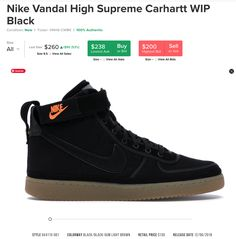 Nike. Algo de Data de las Vandals Nike, High Tops, High Top Sneakers, Shoes, Fashion, Cape Clothing, Slippers, Moda, Zapatos