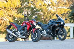 Alex's bike review of the Honda CB500F and CBR500R, mid-range perfection!