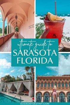 Use this Sarasota travel guide to plan what to do in Sarasota Florida on your trip. This guide includes the best things to do in Sarasota Florida, the best restaurants in Sarasota Florida and also the best places to stay in Sarasota. Plan fun things to do in Sarasota Florida, and fun things to do around Sarasota too, or things to do with kids in Sarasota. Also included are the best bars in Sarasota and the best food Sarasota has to offer for you to enjoy your trip! Sarasota Florida, Florida Beaches, Us Travel Destinations, Travel Tips, Road Trip Theme, Florida Travel Guide, United States Travel, Ultimate Travel, Weekend Trips