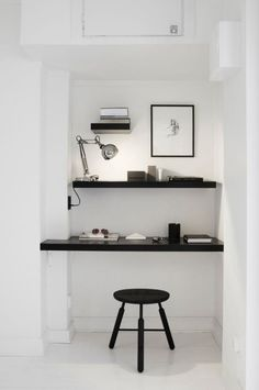Minimalistic work area ....office niche