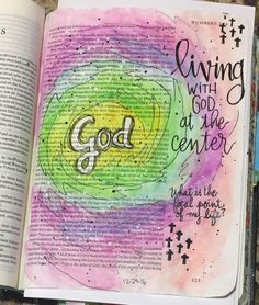 Numbers 2.  Bible Art Journaling by @patjournals