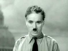 Charlie Chaplin Schlussrede (Deutsch) - YouTube