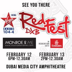 Come and shop with us at the promenade at #redfestdxb this weekend! #dxb #dubaievents #festivaldxb #shopinthesun #fashion #music #style #dmc #monroeandme #popup #mydubai #uae