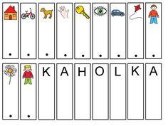 Archiv alb Stipa, Montessori Activities, Alphabet, Calendar, Album, Holiday Decor, Mini, Cards, Struktura
