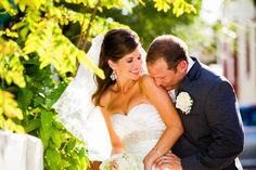 Beautiful Bride and Groom St. Augustine, FL Wedding