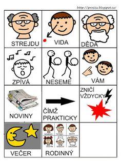 Pro Šíšu: Básničky i pro autíky Playing Cards, Education, Czech Republic, Autism, Playing Card Games, Teaching, Onderwijs, Bohemia, Game Cards