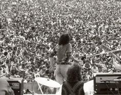 Remembering Joe Cocker: On stage on the last day of Woodstock. Photo by Times photographer Don Hogan Charles.