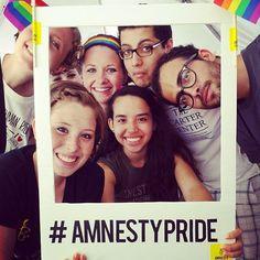 #AmnestyPride