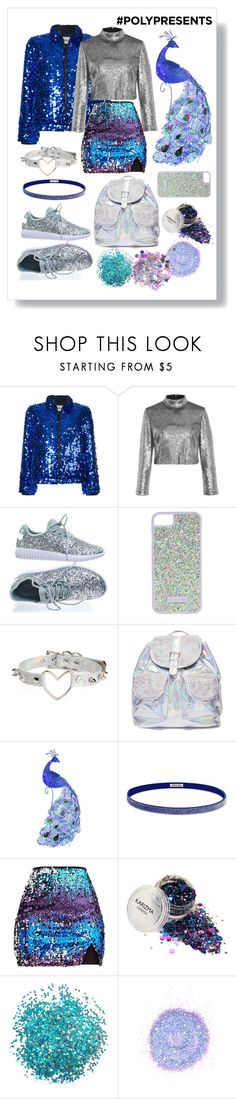 """Just Another Sequinned Mess"" by valiantlaine19 ❤ liked on Polyvore featuring MSGM, A.L.C., Forever Link, Skinnydip, 3 AM Imports, National Tree Company, Athleta, The Gypsy Shrine, contestentry and polyPresents"