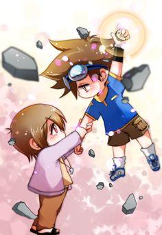 Cutie patooties *_* Manga Pictures, Cute Pictures, Digimon Seasons, Digimon Adventure 02, Hunter Games, Digimon Digital Monsters, My Childhood, Chibi, Pokemon