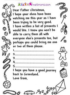 16 free letter to santa templates for kids pinterest printable letters father christmas and free printable