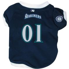 Hunter MFG Seattle Mariners Dog Jersey -- Tried it! Love it! Click the image. : Dog Apparel and Accessories