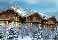 Luxury chalets with dream slope access! Now on skiingproperty.com #Realtor #Design #Ski #Skiing #France #Alpine #Sports #Winter #Maison #Designer #Luxe #Propriété #лыжа #Главная #роскошь #Properties #Architecture #Photography #Travel #Luxury #Lifestyle #Interiors #InteriorDesign #HomeDesign #HomeDecor #Home #Property #RealEstate #EstateAgent