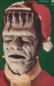 Merry Creepy Christmas from Frankenstein!