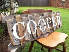 Personalized Family Name Sign.