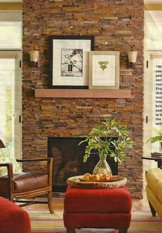 Plan for fireplace redo